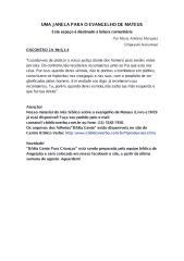 Uma Janela Para o Evangelho de Mateus [Encontro 14].pdf