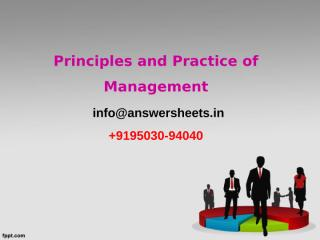 After completing MBA, Sunil decided to join his father Shiva who was running.ppt