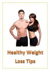 Healthy Weight Loss Tips.pdf