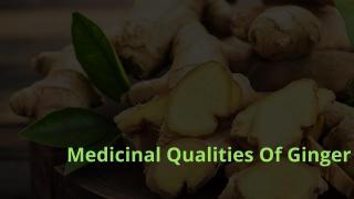 Medicinal Qualities Of Ginger.pdf