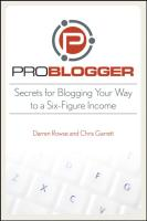 Secrets for Blogging your way to six degit income.pdf