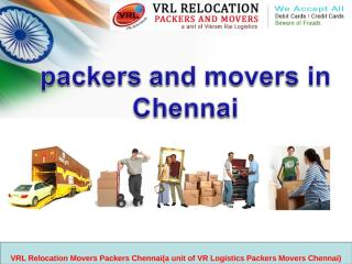 Packers and movers in Chennai.ppt