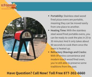 Advantage of Stainless Steel Wood Fired Pizza Oven.pdf