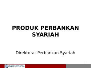 produk pendanaan bank syariah.ppt