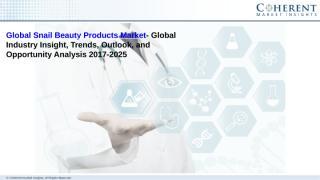 Snail Beauty Products Market.pdf