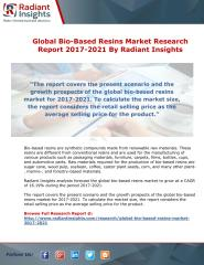 Global Bio-Based Resins Market Research Report 2017-2021 By Radiant Insights.pdf
