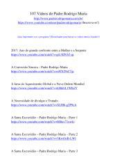 107 vídeos do Padre Rodrigo Maria.pdf