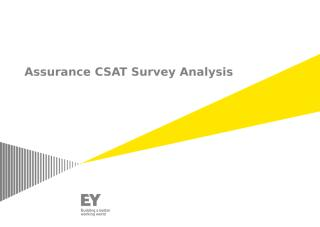 FY14_Q2_Assurance CSAT Survey Analysis_.pptx