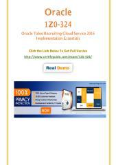 1Z0-324 Certification Test - Quality Training kits.pdf