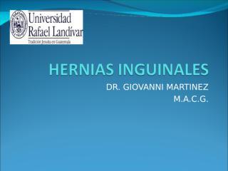 HERNIAS INGUINALES.ppt