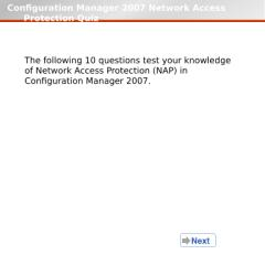 NetworkAccessProtectionQuiz.pps
