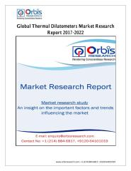 Global Thermal Dilatometers Market Research Report 2017-2022 by Players, Regions, Product Types and Applications.pdf