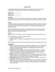 Email Policy 2.doc