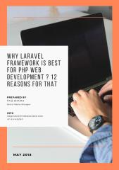 Why Laravel Framework is Best for PHP Web Development _ 12 Reasons for That (1).pdf