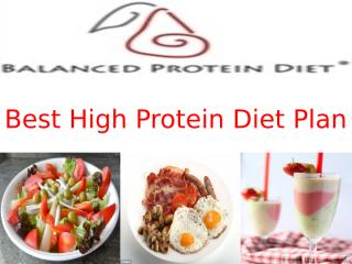 Best High Protein Diet Plan.pptx