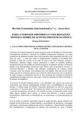 RCI 2 – PARA A VERDADE HISTÓRICA E UMA REFLEXÃO HONESTA SOBRE OS ACONTECIMENTOS DA EPOCA….pdf