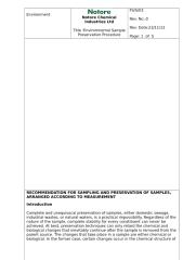 Environmental Sampling &  Preservation Procedure Rev1 on 05-01-2013.doc
